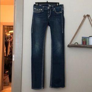 True Religion billie big qt bootcut jeans